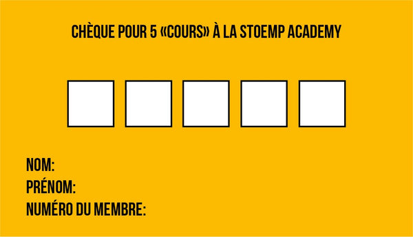 5 Cours // Stoemp Academy