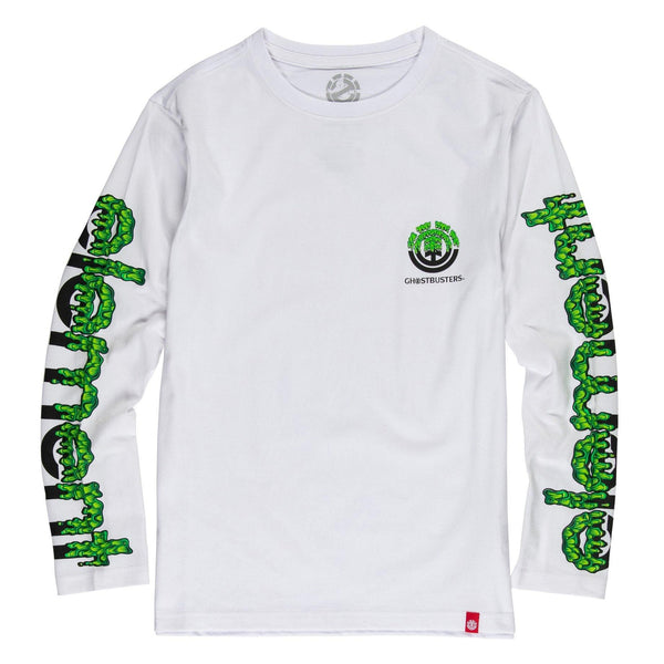 T-shirts - Element - Proton Combo LS Boy // Ghostbusters x Element // Optic White - Stoemp