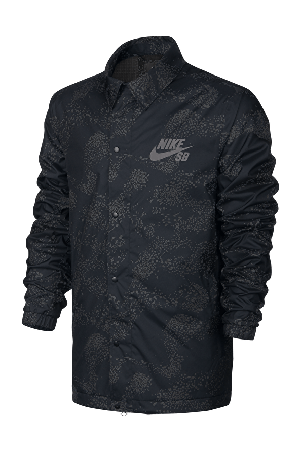 Assistant Coaches Jacket // Black/Anthracite