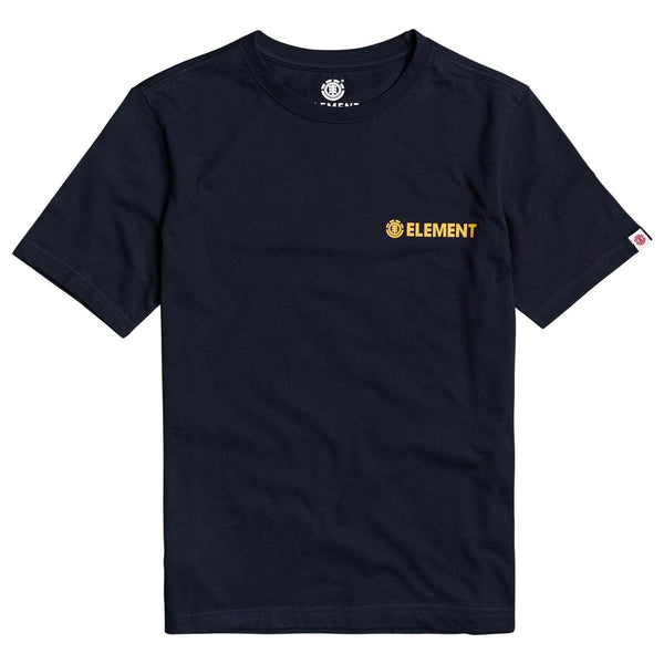 T-shirt - Element - Blazin Chest SS Boy // Eclipse Navy - Stoemp