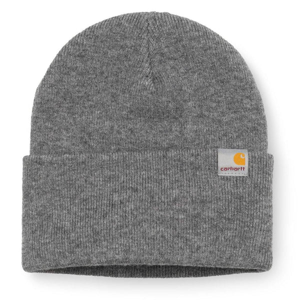 Bonnets - Carhartt WIP - Playoff Beanie // Dark Grey Heather - Stoemp