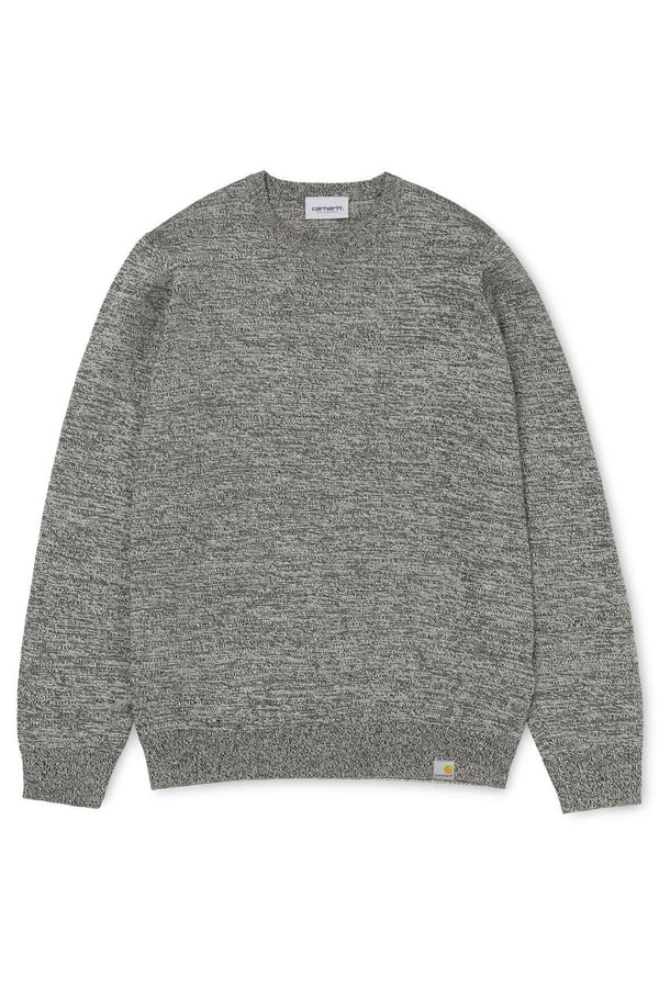 Toss Sweater // Black/Brocken White