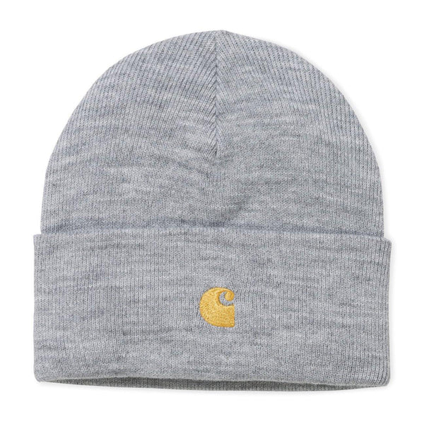 Chase Beanie // Grey Heather/Gold