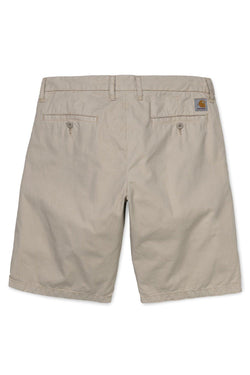 Dark Gray Johnson Short // Wall Shorts Carhartt WIP