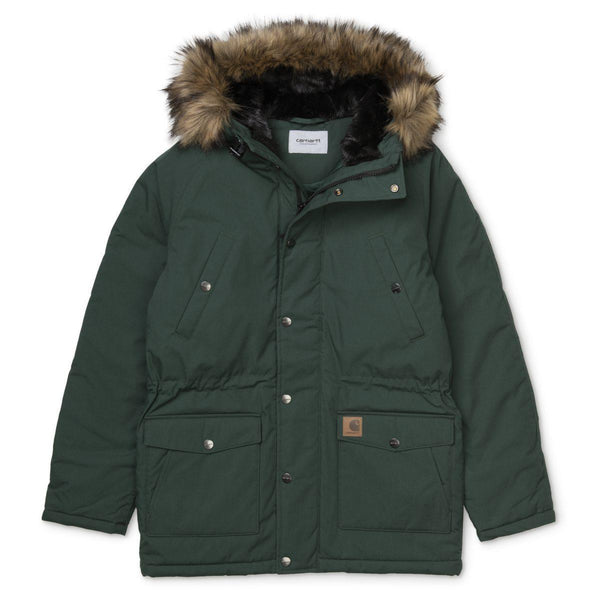 Trapper Parka // Dark Fir/Black