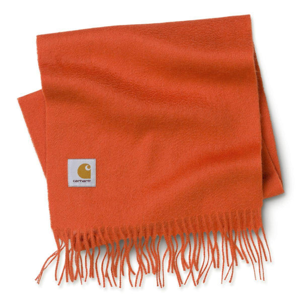 Chocolate Clan Scarf // Brick Orange Écharpes Carhartt WIP