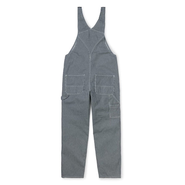 Bib Overall // Blue/White Rinsed