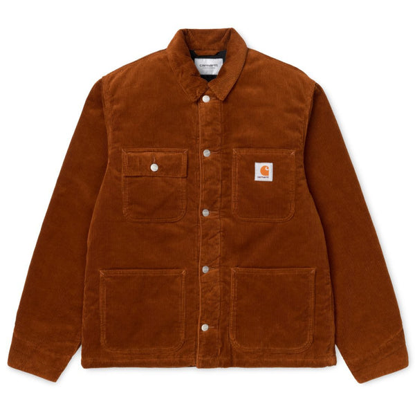 Saddle Brown Michigan Coat // Brandy Rinsed Vestes Carhartt WIP
