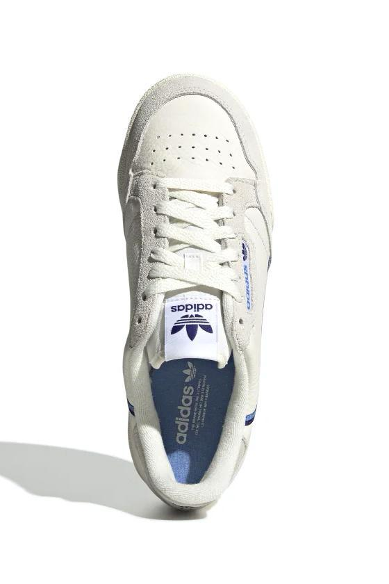 Sneakers Beige Adidas Continental 80 W // Off White/Blue // EE5557