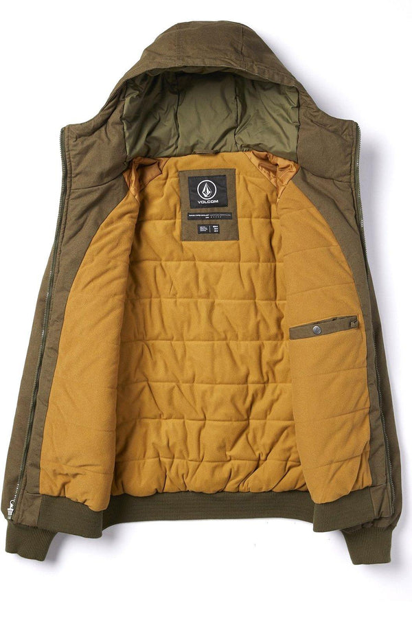 Goldenrod Hernan 5K Jacket // Major Brown Vestes Volcom