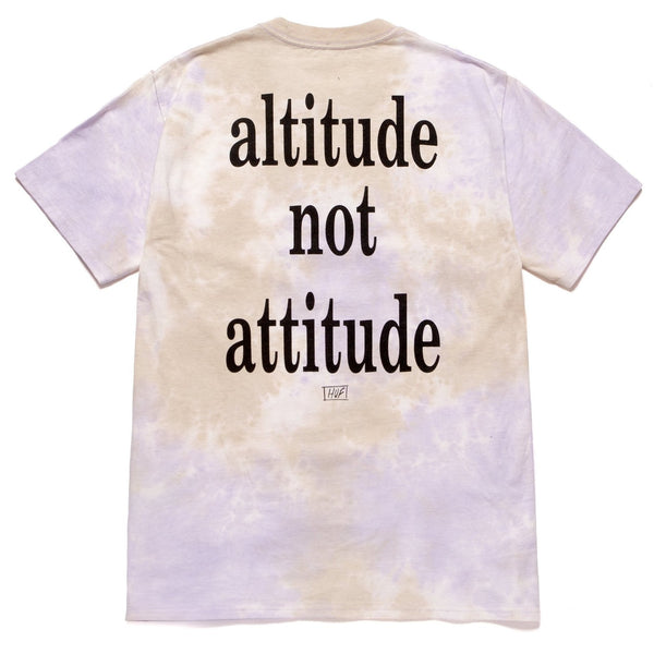 Antique White Huf x Smashing Pumpkins Altitude SS Tee // Violet T-shirts Huf