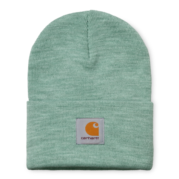 Acrylic Watch Hat // Frosted Green Heather