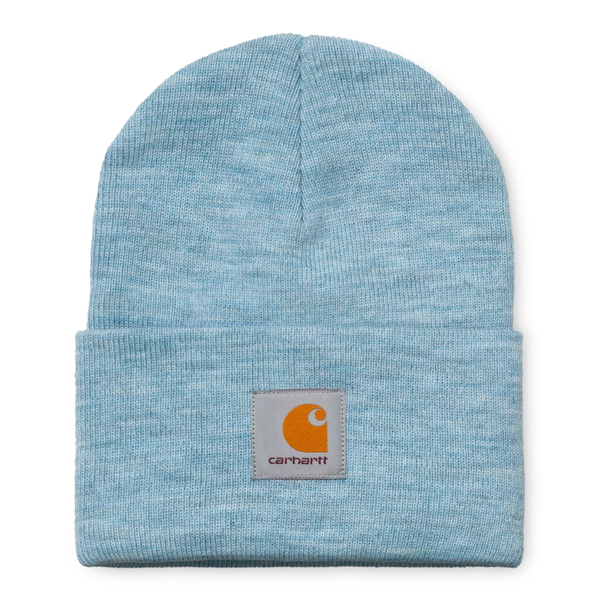 Acrylic Watch Hat // Frosted Blue Heather