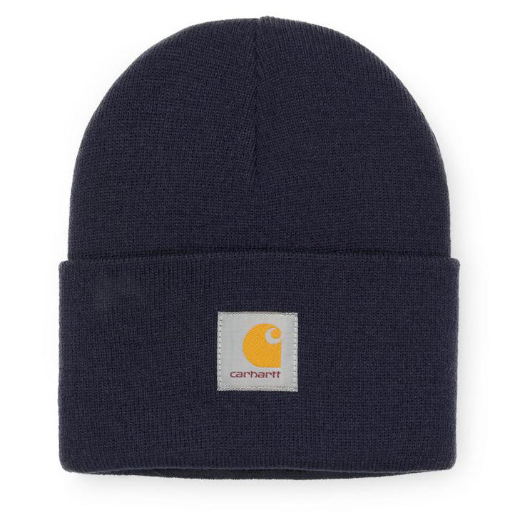 Dark Slate Gray Acrylic Watch Hat // Dark Navy Bonnets Carhartt WIP