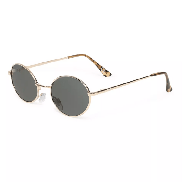 As If Sunglasses // Gold/Green