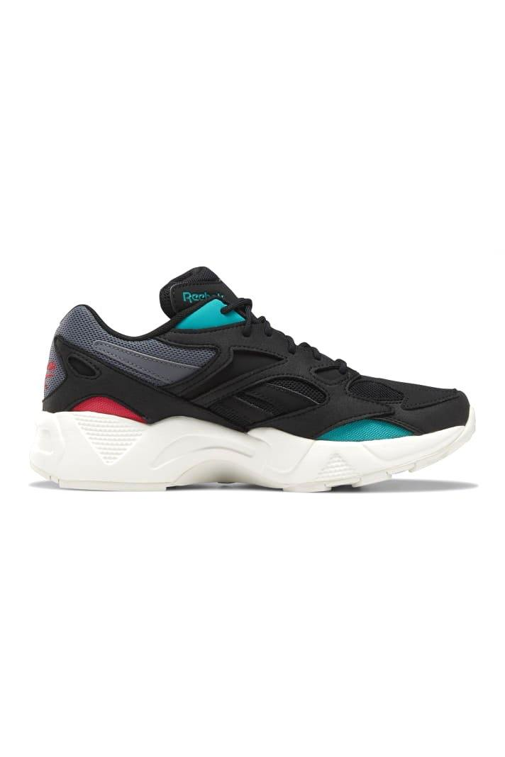 Dark Slate Gray Aztrek 96 // Blk/Grey/Teal/Chalk // DV8528 Sneakers Reebok