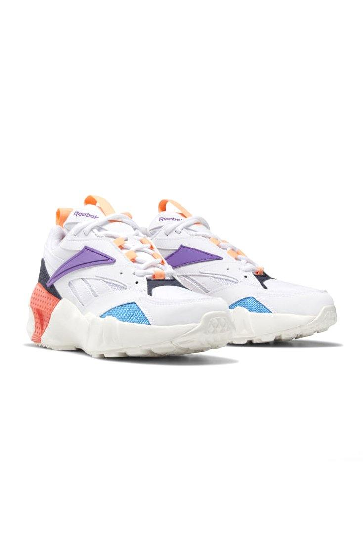 Lavender Aztrek Double Mix // White/Grape Punch // DV8171 Sneakers Reebok