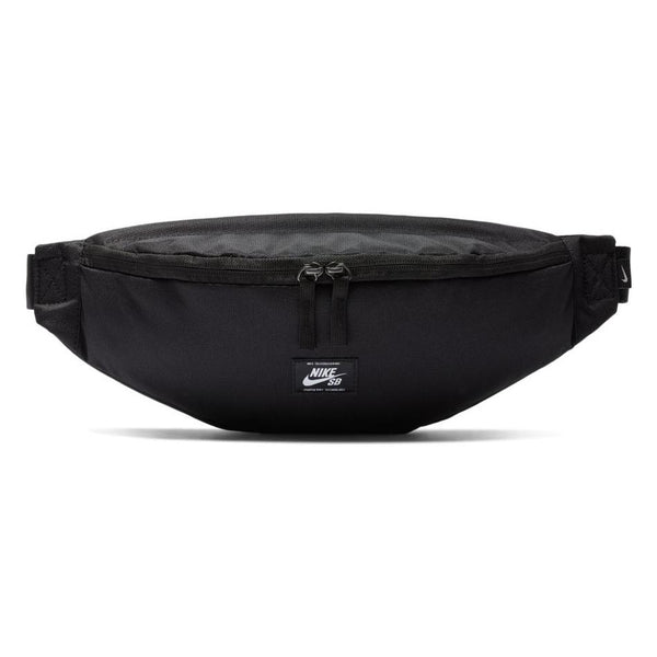 Black Nike SB Heritage Hip Bag // Black/Black/White Sacs Nike SB