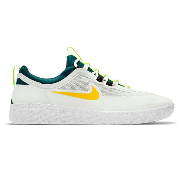 Sneakers - Nike SB - Nyjah Free 2 // Summit White/University Gold/Geode Teal - Stoemp