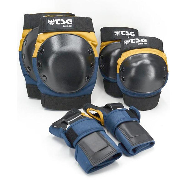Dark Slate Gray Protection Set TSG Basic // Night Blue/Dusk Yellow Protections TSG