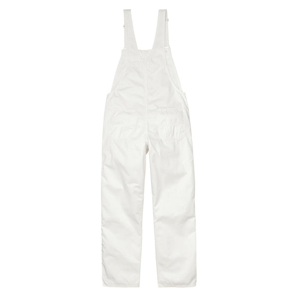 W' Bib Overall Straight // Off-White
