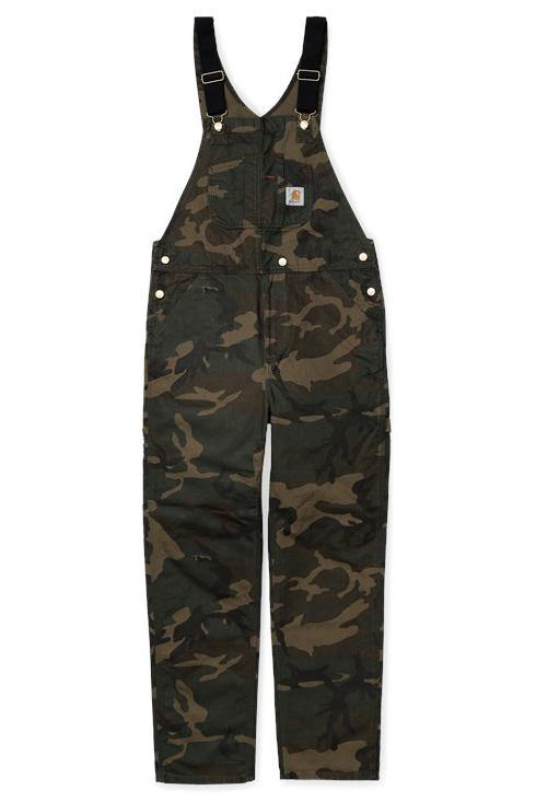 Bib Overall // 100% Cotton Organic // Camo Laurel
