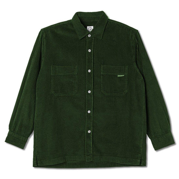 Chemises - Polar - Cord Shirt // Dark Green - Stoemp
