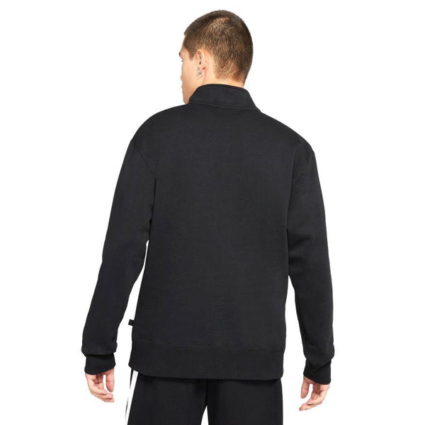 Half-Zip Skate Sweatshirt // Black