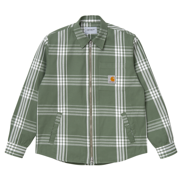 Cahill Shirt Jac // Cahill Check/Dollar Green