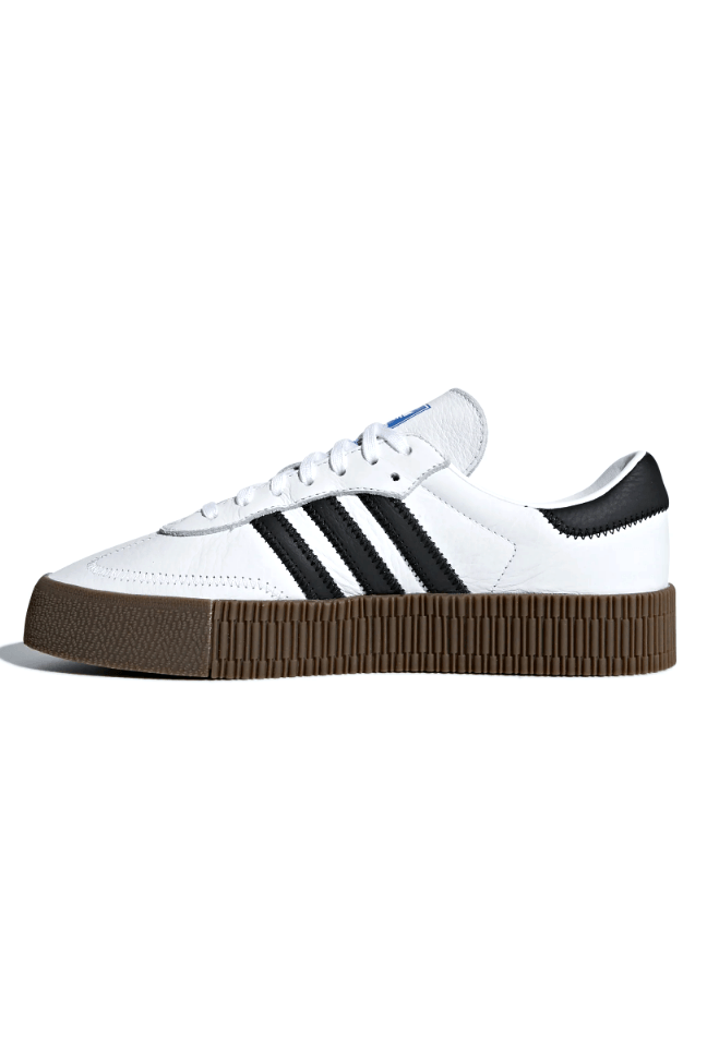 White Smoke Sambarose W // White/Black // AQ1134 Sneakers Adidas
