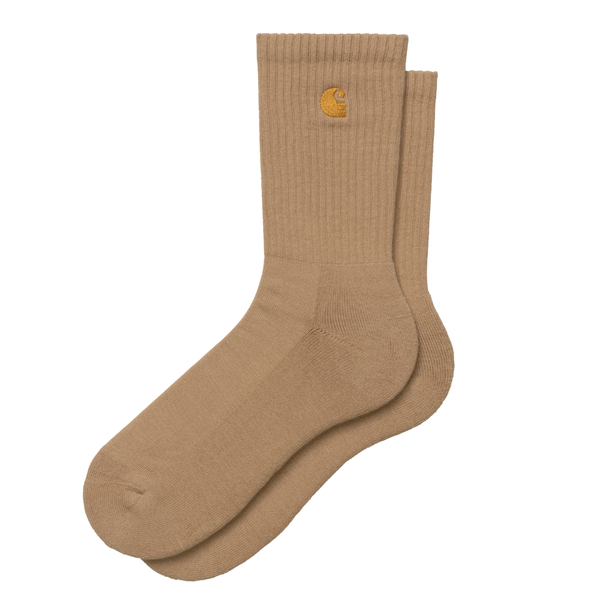 Chase Socks // Dusty H. Brown/Gold