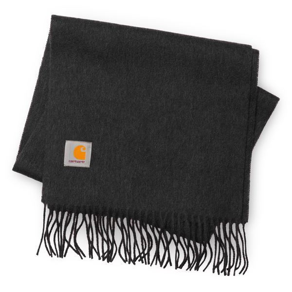 Dark Slate Gray Clan Scarf // Dark Grey Heather Écharpes Carhartt WIP