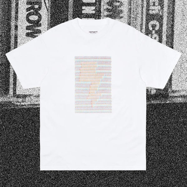T-shirts - Carhartt WIP - SS DFA T-shirt // Relevant Parties // White - Stoemp