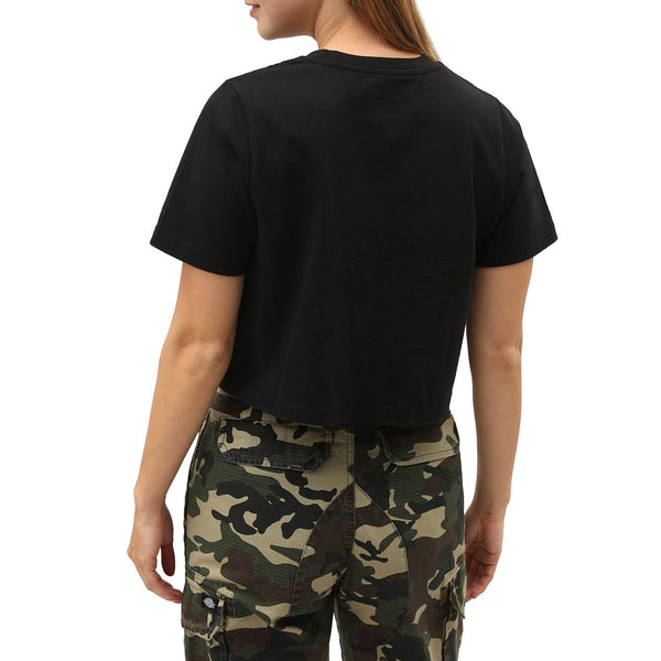 Black W Ellenwood Cropped T-Shirt // Black T-shirts Dickies