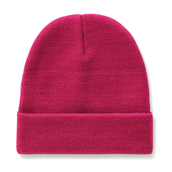 Brown Gibsland Beanie // Pink Berry Bonnets Dickies