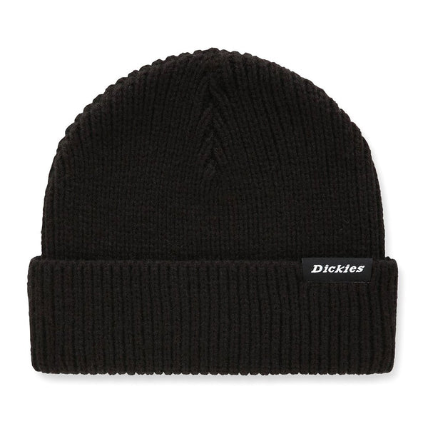 Black Woodworth Beanie Army // Black Bonnets Dickies