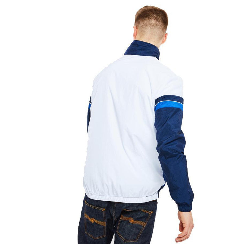 Sempre Track Top // White/Navy