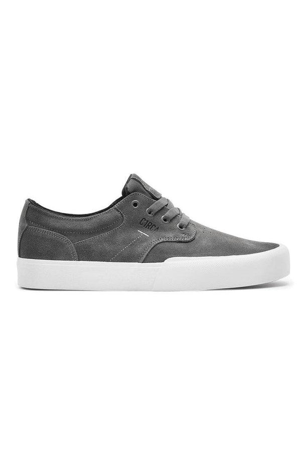 Dim Gray Elston // Charcoal/White Sneakers Circa