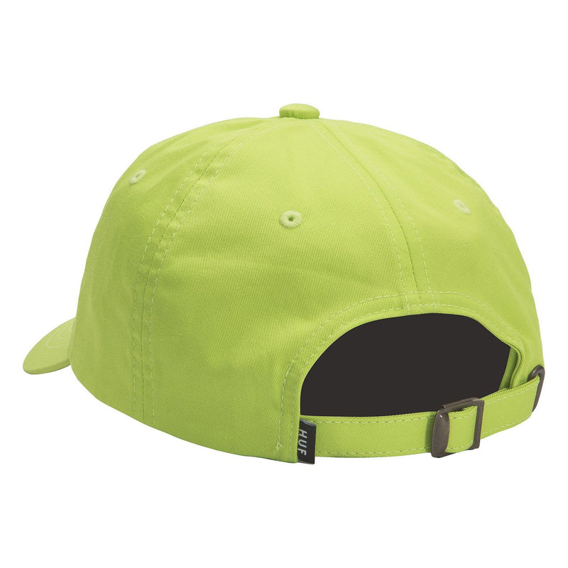 Essentials OG logo Curved Hat // Hot Lime