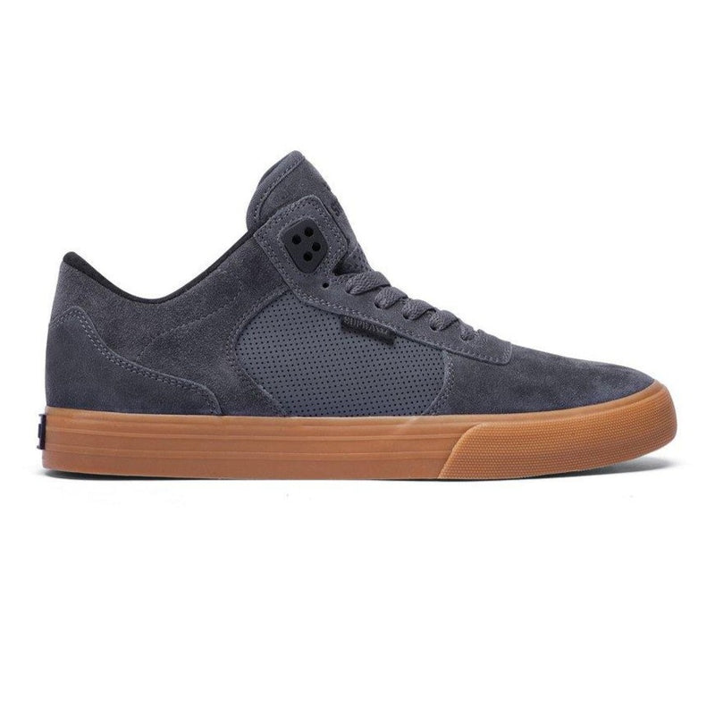 Dark Slate Gray Ellington VULC // Charcoal/Gum Sneakers Supra