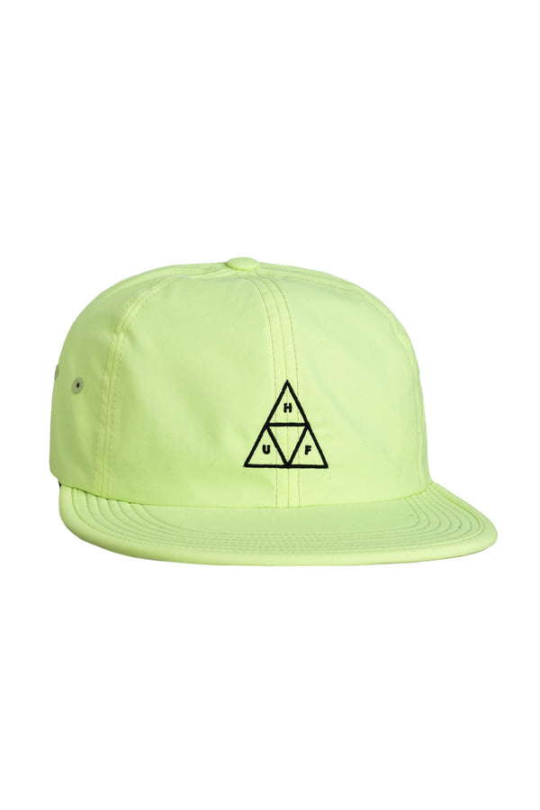 Pale Goldenrod Formless Triple Triangle 6 Panel // Lime Casquettes & hats Huf