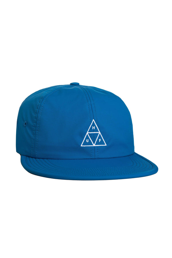 Dark Cyan Formless Triple Triangle 6 Panel // Ocean Casquettes & hats Huf