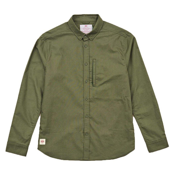 Foundation LS Shirt // Olive