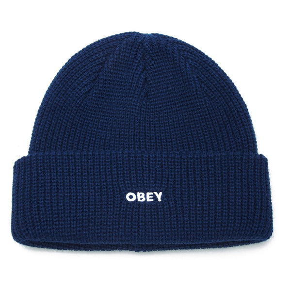 Midnight Blue Future Beanie // Poseidon Bonnets Obey
