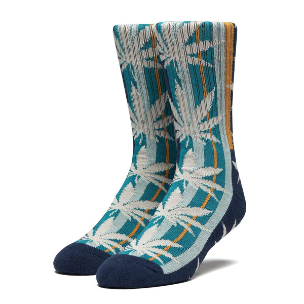 Golden Plantlife Sock // French Navy