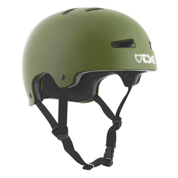 Protections - TSG - Helmet Evolution // Satin Olive - Stoemp