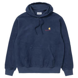 Sweats à capuche - Carhartt WIP - Hooded Contra Sweat // Blue - Stoemp