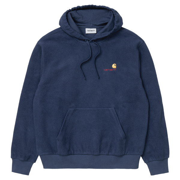 Hooded Contra Sweat // Blue