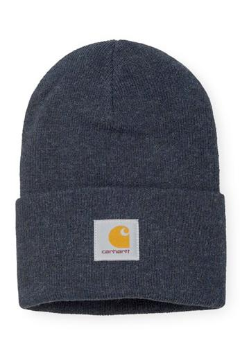Dark Slate Gray Acrylic Watch Hat // Dark Navy Heather Bonnets Carhartt WIP