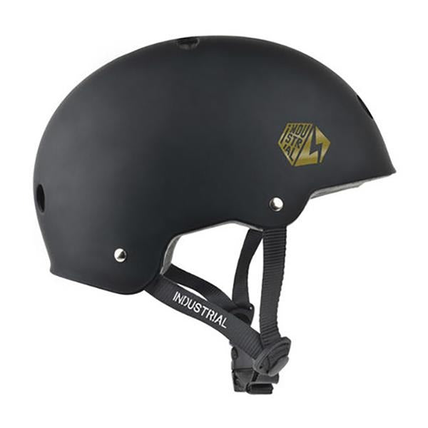 Protections - Industrial Helmet - Industrial Certified Helmet // Black/Gold - Stoemp